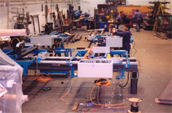 Fabrication of the 767 NCDJ